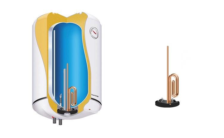 Copper heating element